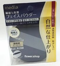 media☆Kanebo Japan Media Face Loose Powder AA with Puff Lucent color SPF18 PA++