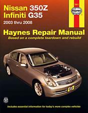 Haynes Workshop Manual Nissan 350Z Infiniti G35 2003-2008 Service & Repair