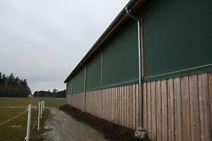 Böck Windschutznetz grün/beige 260g je m² Profiqualität f. Hof Stall Garten