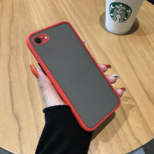 Silicone Case for iphone 12 11 Pro X XS Max XR/OnePlus Frosted Transparent Cover