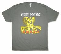 Offspring Smash Mens Charcoal Grey T Shirt New Official