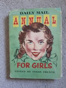 Daily Mail Annual For Girls with Dustcover