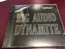 Big Audio Dynamite CONTACT CD 1989 COL CSK 73043 4 TRACK DJ Copy