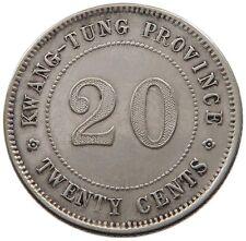 China Kwangtung 20 Cents #rc 041