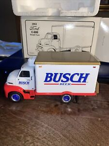 First Gear  Busch Beer 1953 Ford c 600    , 19-1623 , 1/34 Scale Lot X24