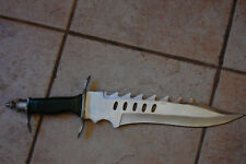 """Vintage Ftost Cultery Stainless 18"""" Knife Design By Jim Frost Originalcase"""