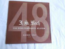 J.S. BACH: DAS WOHLTEMPERIRTE KLAVIER - Maurice Cole Pianoforte Volume 4