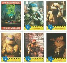 Teenage Mutant Ninja Turtles Movie Photo Card Set of 132 Cards + 11 Stickers