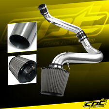 91-99 Saturn S-Series MT 1.9L 4cyl Polish Cold Air Intake + Stainless Air Filter