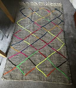 Berber Moroccan Rug Cactus Sabra - cactus silk rug - Agave carpet handmade