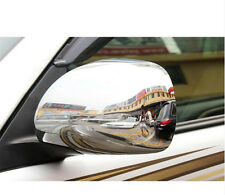 Chrome Side Door Mirror Cover Trim for Toyota Land Cruiser Prado Fj120 2003-2009