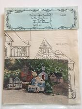 Victorian Houses and Church Decorative Tole Painting Pattern Mary Lou Burrows