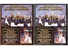 Duke Blue Devils 2015 Men's NCAA Basketball National Champions Photo Plaque