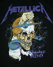 FREE SAME DAY SHIPPING BRAND NEW CLASSIC METALLICA DAMAGED JUSTICE SHIRT XL