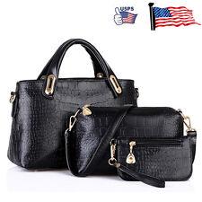 Women Handbag Shoulder Bags Tote Purse Leather Ladies Messenger Hobo Bag lot ee