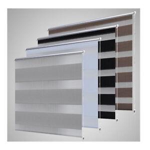 vidaXL Store Enrouleur Tamisant Rideau de Fenêtre Multicolore Multi-taille