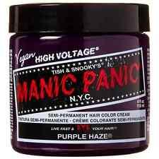 Manic Panic Semi-Permament Hair Color Creme, Purple Haze 4 oz (Pack of 4)