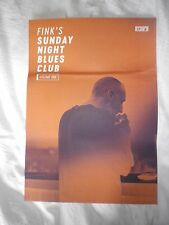 Fink's Sunday Night Blues Club; Volume 1    Promo poster