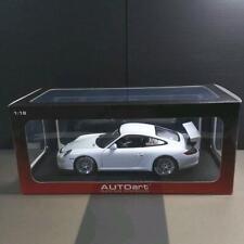 Auto Art 1/18 Porsche White 911 GT3 CUP
