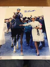 Secretariat - Penny Chenery - Ron Turcotte Signed  Photo w/ Picture COA