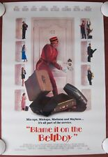 BLAME IT ON THE BELLBOY ~ Orig. (1992) 27x40 Movie Poster ROLLED MINT CONDITION!