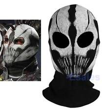 New Ghost Mask Skull Face Hood Call of Duty COD Commander Elias Balaclava Mask