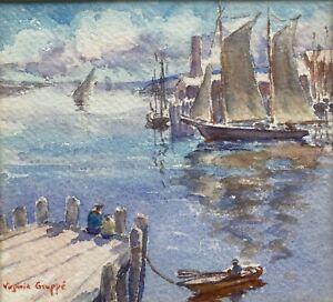 Rockport Harbor, Impressionist Virginia Gruppe