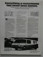 FRANCHINI VIXEN 21 Motorhome camper dealer brochure - English ST501000318
