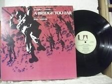 UAG 30097 A BRIDGE TOO FAR Original Soundtrack OST JOHN ADDISON UA 1977 UK LP