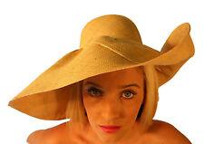 Campbell COOPER Nouveau Large VACANCES ÉTÉ Garden Party soleil casquette naturel