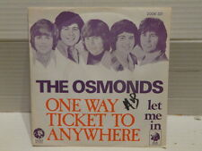 OSMONDS One way ticket to anywhere 2006031