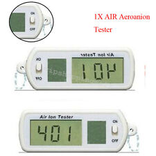 Portable Mini Car Air Ion Tester Meter Counter Room Filter Oxygen Purifier Easy