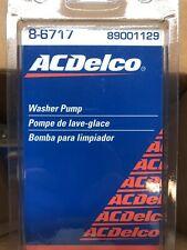 Ac Delco 8-6717 89001129 Washer Pump Quantity 4