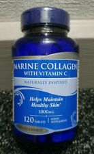 H&B Marine Collagen 1000mg With Vitamin C 120 Tablets