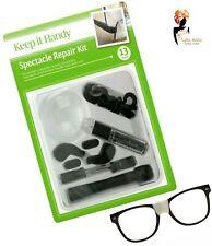 SPECTACLE REPAIR TOOL KIT Sunglasses  Eye Glasses Screws Nuts Pads Screwdriver