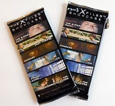 2 (Open) Packs of The X-Files Trading Cards Topps Showcase Volume 1 18 Cards
