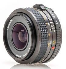 Minolta MD Kamera-Objektive mit manuellem Fokus und 35mm Brennweite