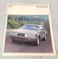 1985 Ford Thunderbird Brochure Canada my4589