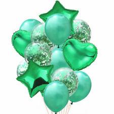 14pcs/set Wedding Birthday Balloons Latex Foil Ballons Kids Boy Girl Baby Part