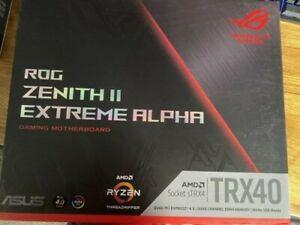 ASUS ROG Zenith II Extreme Alpha TRX40 Gaming AMD 3rd Gen Ryzen Threadripper