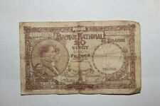 More details for 20 belgium francs banknote dated 1944