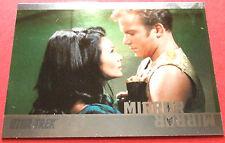 "STAR TREK TOS 50th Anniversary - MM34 ""MIRROR, MIRROR"" (uncut) - Foil Chase Card"