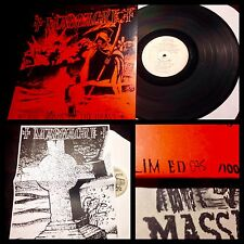 MASSACRE~From Womb To The Grave LP/100/#d~Finnish HC punk anti cimex shitlickers