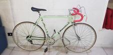 Bici da corsa bianchi pantografata campagnolo restaurata artigianalmente vintage
