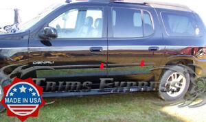 "2002-2006 Chevy Trailblazer/ GMC Envoy Rocker Panel Trim Cover Accent BW 6"" 4Pc"