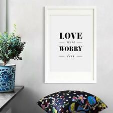 Motivational Quotes Posters Home Living Room Wall Art Decorative Painting LI