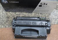 GENUINE NEW HP Q7553X 53X BLACK TONER CARTRIDGE laserjet P2104 P2015 M2727