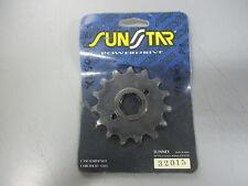 NOS Sunstar Honda Front Sprocket XL250 R XL500 XR500 NX650 32015