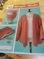 Simple Honeycomb Brioche Knitting Patterns - Cardigan, Mug Hug, Purse