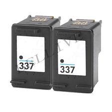 2 CARTUCCCE RIGENERATO PER HP 337 / C9364EE Photosmart 8050 2575  C4180  D5160